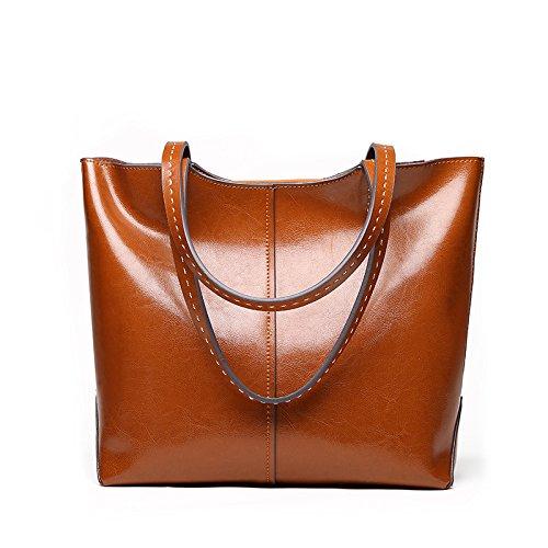 Bolsa Hombro GUANGMING77 Y Bolsa La brown De Messenger Violeta Bolso nXFFA41w