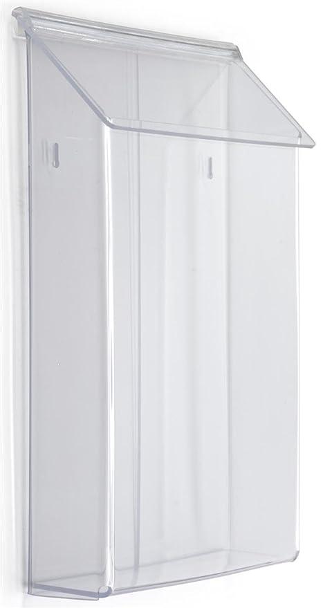 Amazon Displays40go 4040 X 40 IndoorOutdoor Literature Beauteous Outdoor Magazine Holder