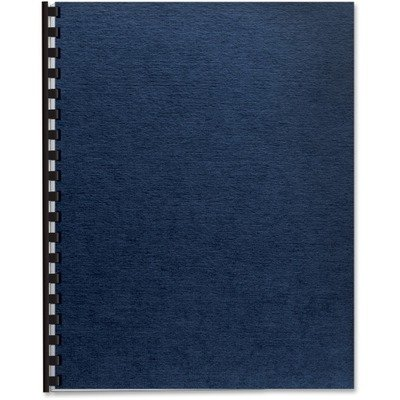 Fellowes Products - Fellowes - Linen Texture Binding System Covers, 11-1/4 x 8-3/4, Navy, 200/Pack - Sold As 1 Pack - Texture Expressions Binding Covers give a professional look and feel to any document. - Available in premium linen and classic grain mate by Fellowes