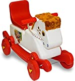 Akshat 2 In 1 Green Horse Rocker Cum Ride On Toy For Kids
