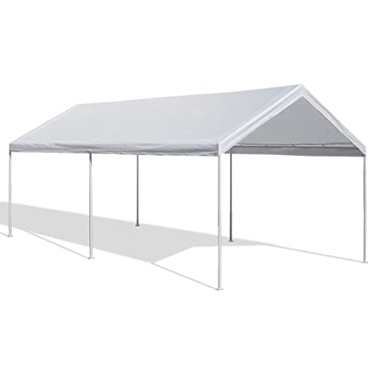Caravan Canopy 10 X 20-Feet Domain Carport White  sc 1 st  Amazon.com & Amazon.com : Caravan Canopy 10 X 20-Feet Domain Carport White ...