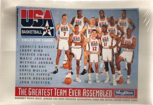 1992 Skybox USA Basketball Wax Box