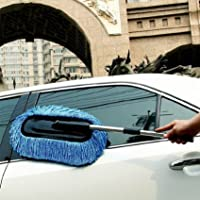 Spartan Car Cleaning Microfiber Mop Duster with Grip Extendable Handle