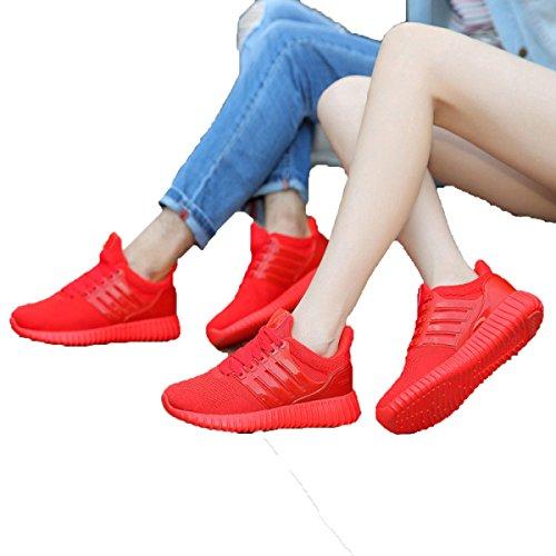 Primavera Y Otoño Sra CHT Salvajes Ocasionales De Los Deportes Zapatos De Los Amantes Red