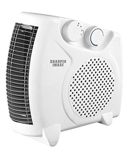 - Sharper Image 10'' Desk Top Adjustable Heater- White