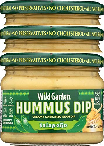 WILD GARDEN: Hummus Dip Jalapeno, 10.74 oz - 3Pack