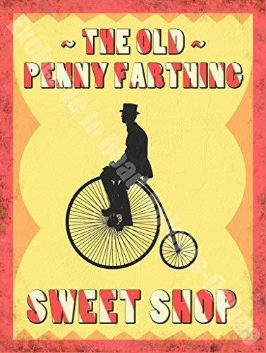 Antigua Bicicleta Antigua Tienda De Golosinas, Comida Y ...