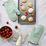 KitchenAid Asteroid Cotton Oven Mitts with Silicone