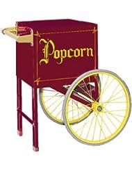Gold Medal 2659Cm 18 In Maroon Popcorn Cart