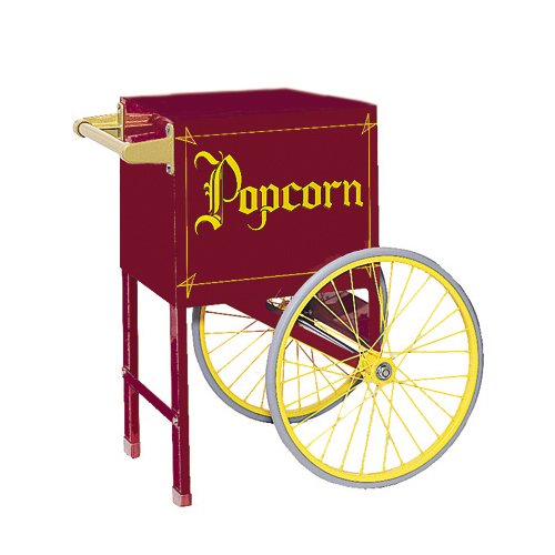 Gold Medal 2659Cmp 18 In Maroon Cart, Plain by Gold Medal (Image #1)
