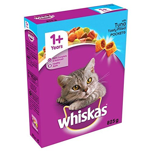 Whiskas Cat Complete Dry with Tuna 825g