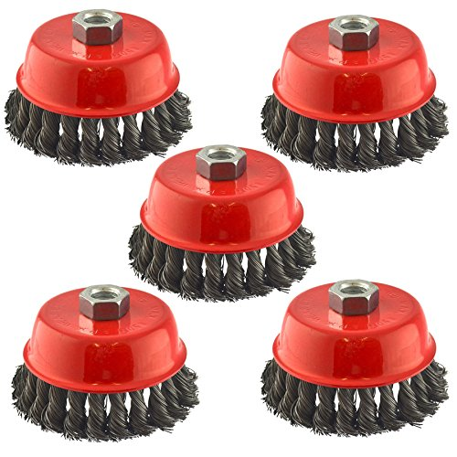 Knot Brush Twist Cup (Wire Cup Brush Wheel 100mm for 7
