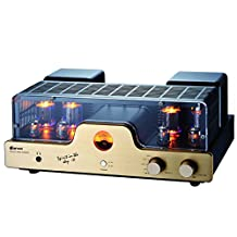 Dared I30 HIFI Audiophiles Professional Class A Vacuum Tube Integrated Amplifier USB-DAC/LINE input and Headphone Output,30W*2,with 6L6G(5881),12AX7(ECC83),12AU7(ECC82) Tube
