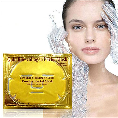 Pll Costumes (60g Gold Bio-Collagen Peel Facial Face Mask Anti-Aging Whitening Hydrating Repair Skin New H1)