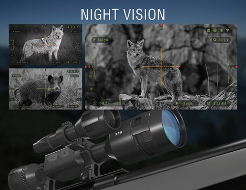 ATN X-Sight 4K Pro Smart Day/Night Rifle Scope real image