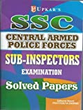 SSC CAPF's/CPO Sub-Inspectors Exam Solved Papers