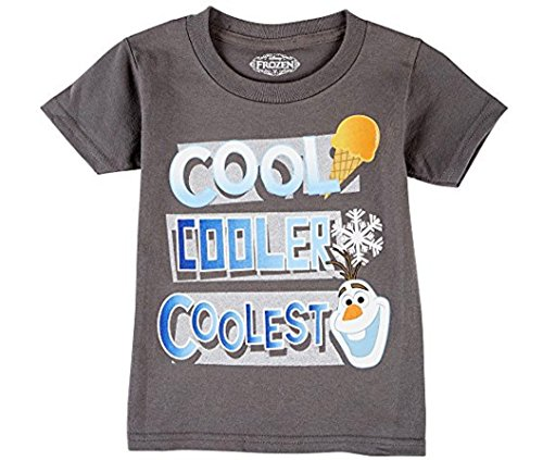 Disney Boys Frozen Olaf Cool Cooler Coolest T-Shirt