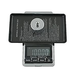 18OZ 1.1LB LCD Black-light Digital 0.01g X 500g Accurate Sensitive Professional Pocket Jewelry Scale Gram G/ Oz/ Ct/ Gn