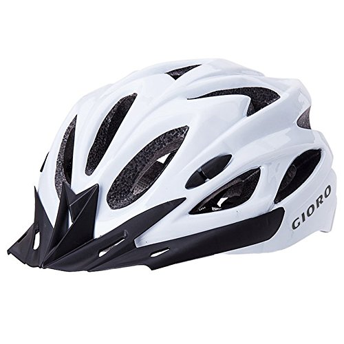 GIORO Ultralight Adult Cycling Bike Helmet for Men Women Specialized Road Urban Mountain Bicycle Safety Protection Certified with Removable Visor and Quick Release Adjustable Strap (Bike Cycling Winter Helmet)