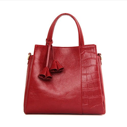 Bags Handbags Bags Large Winered Capacity Shoulder Fashion rqPrxg