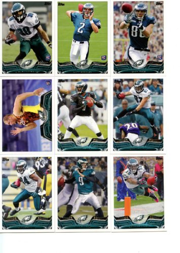 - Philadelphia Eagles 2013 Topps NFL Complete Hand Collated Regular Issue 14 Card Team Set Including Nick Foles, Lesean Mccoy, Matt Barkley, Jeremy Maclin, Brent Celek, Michael Vick and Others