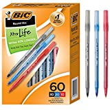 BIC Ballpoint Pen, Assorted Colors, 60 Pack