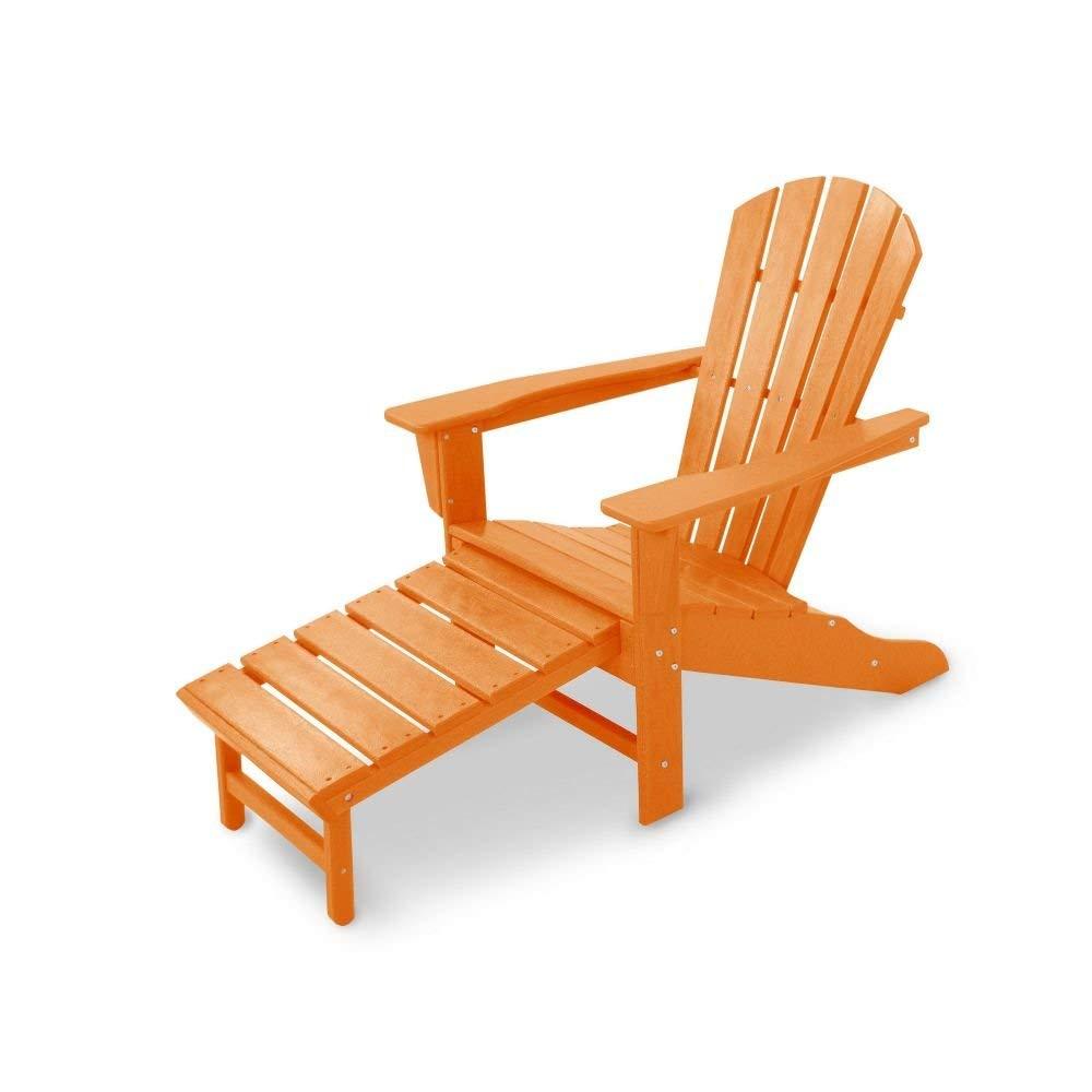 POLYWOOD HNA15TA Palm Coast Adirondack Chair Tangerine