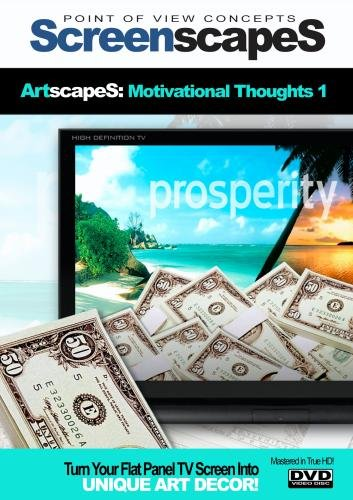 ScreenscapeS: Motivational Thoughts DVD (Inspring TV Screen saver!)