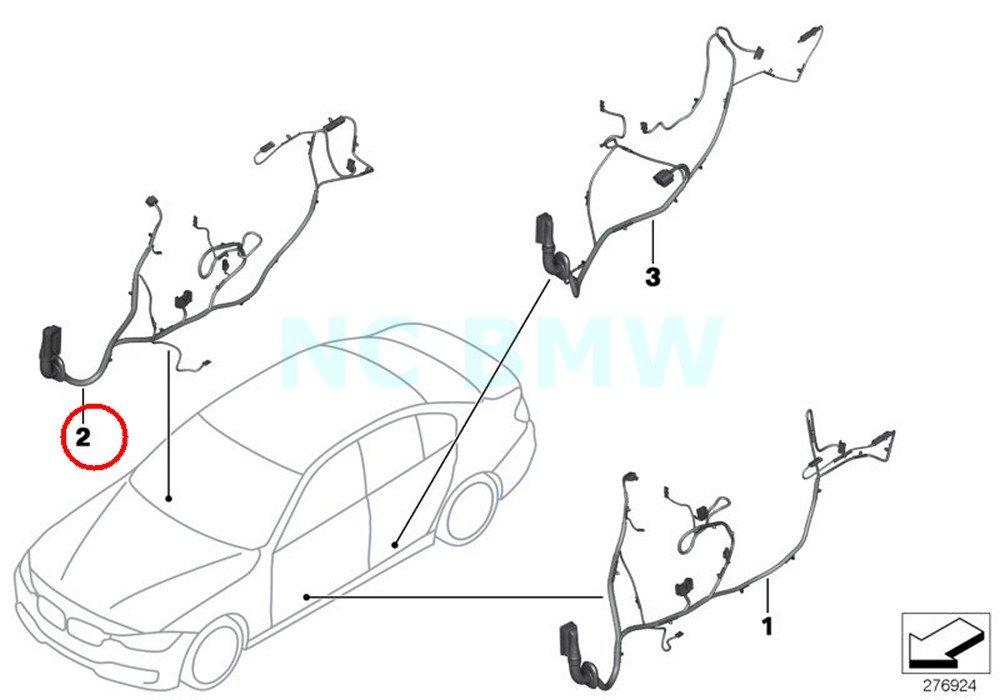 Amazon Com Bmw Genuine Wiring Co Drivers Side Automotive