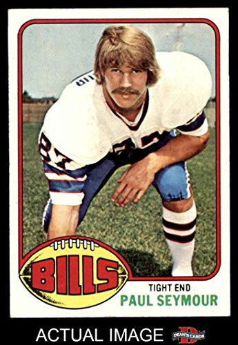 1976 Topps # 489 Paul Seymour Buffalo Bills (Football Card) Dean's Cards 4 - VG/EX - Paul Seymour Buffalo