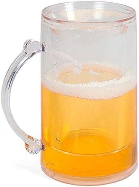 Gerimport Jarra Cerveza Enfriadora 400ml: Amazon.es: Hogar