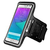 Black SumacLife Outdoors Sport Armband Case For Samsung Galaxy Note Edge / Samsung Galaxy Note Edge / Samsung Galaxy Note 3 / Samsung Galaxy S5, Active, Sport, Prime