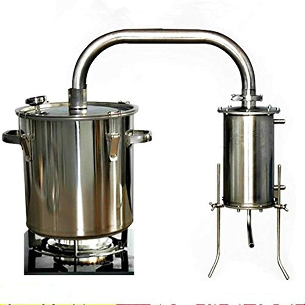 12/22/36/50/70L 3/5/9/13/18 Gal Home Distiller Moonshine Still Alcohol Whisky Water Alcohol Boiler Stainless Steel Brew Kit Wiine Making