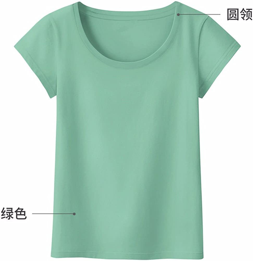 YMFIE New white cotton t-shirts summer womens short sleeved gym sports short sleeves