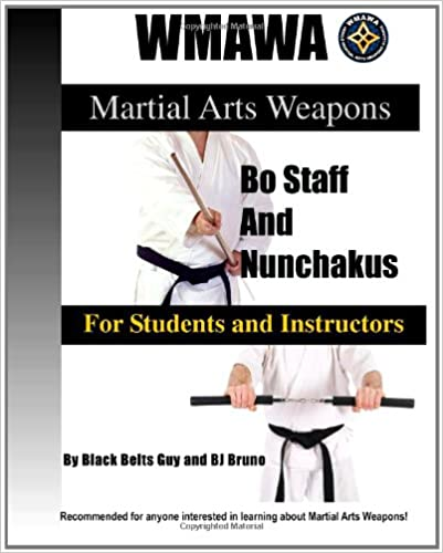 Martial Arts Weapons Bo Staff and Nunchakus for Students ...