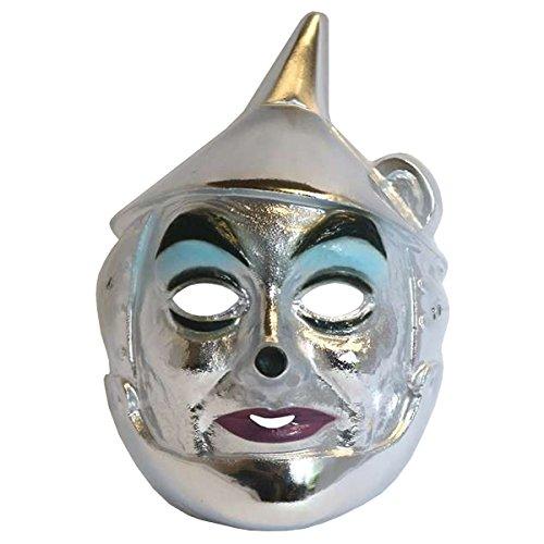 Tin Man Mask Costume Mask (The Wizard Of Oz Tin Man Kids Costume)
