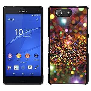 LECELL--Funda protectora / Cubierta / Piel For Sony Xperia Z3 Compact -- Universo Modelo de estrellas de lujo --