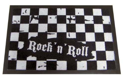 Rock n Roll Doormat]()
