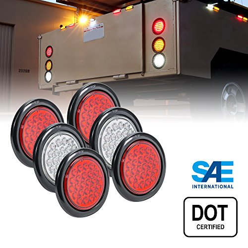 4In Round Led Tail Lights in US - 7
