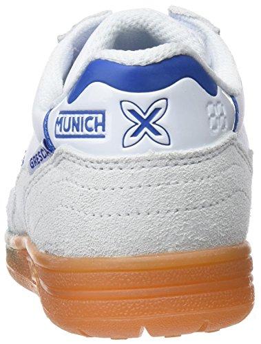 Munich Unisex-Kinder Gresca Fitnessschuhe, Weiß, EU verschiedene Farben (001 001)