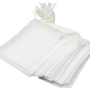 Desechables bolsas de té vacío papel de filtro té cadena ...