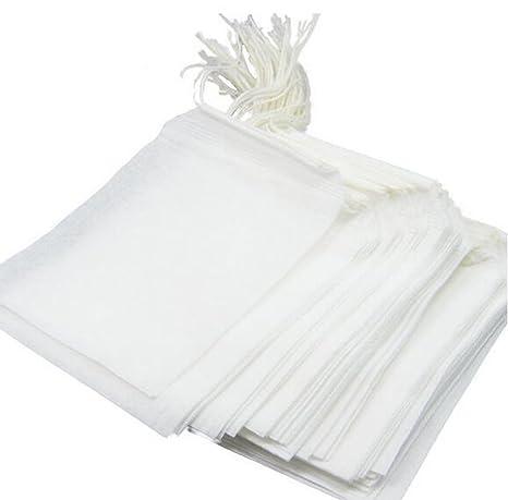Amazon.com: Desechables filtro de té aspiradora Papel Bolsas ...