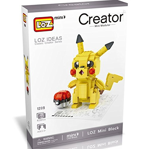 LOZ Diamond Block Large Size - Pokemon Go Pikachu (Pokemon Diamond Toy)