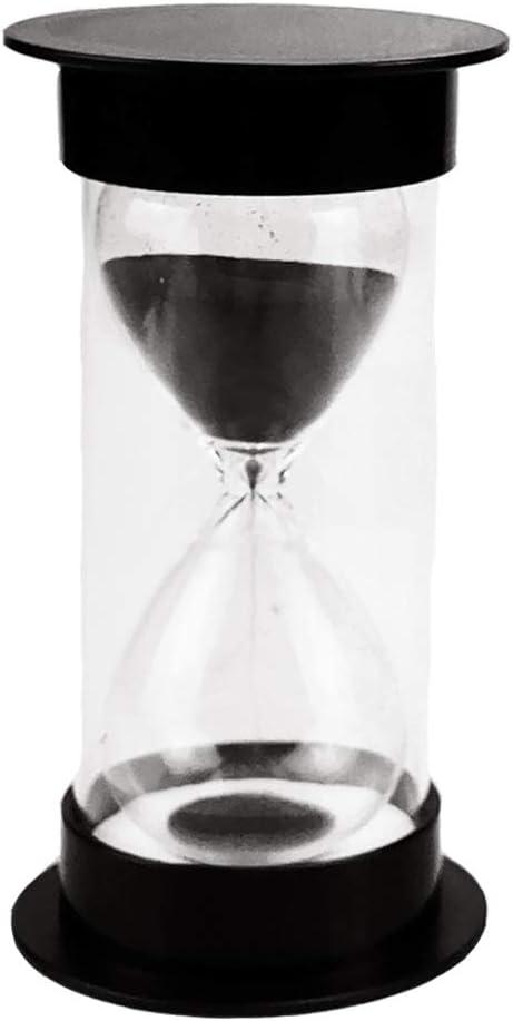 decorazione soggiorno camera da letto ufficio regalo-30 minuti nero regalo creativo Toirxarn clessidra timer sicurezza bambini clessidra orologio da cucina orologio da sabbia