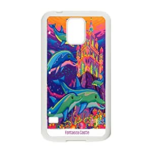 UNI-BEE PHONE CASE For Samsung Galaxy S5 -Dolphins Art Pattern-CASE-STYLE 18