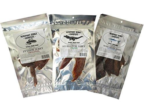Exotic Jerky Predator Pack - Jerky Beef Edible