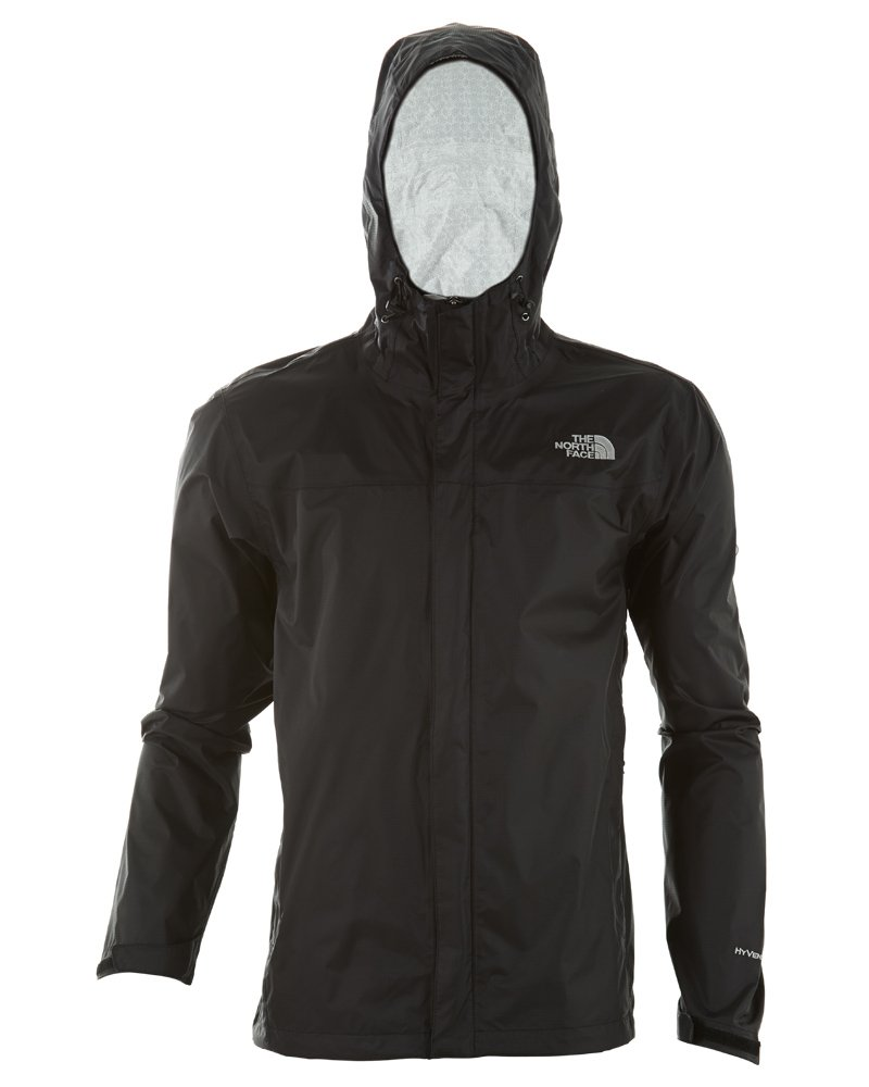 The North Face Men's Venture Jacket TNF Black/TNF Black 2XL by The North Face