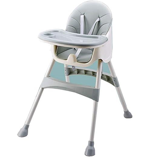 ZJPP Silla portátil Plegable para bebé, Mesa de Comedor ...