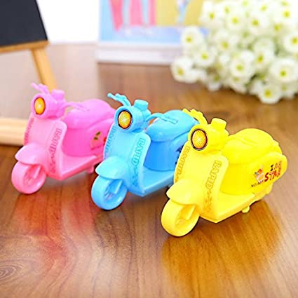 Jiada Scooter Design Pencil Sharpener For Kids Birthday Return Gifts