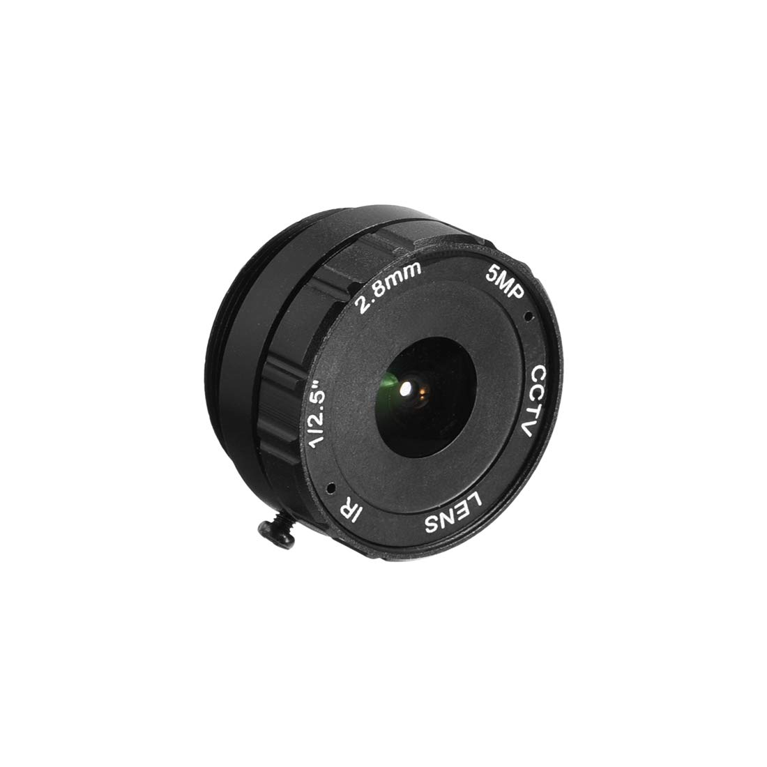 uxcell 2.8mm 5MP F1.2 FPV CCTV Lens Wide Angle for CCD Camera by uxcell